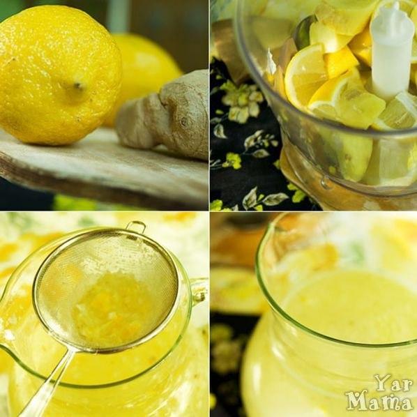 ТОП-5 рецептов лимонада