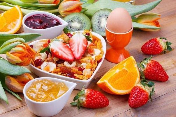 8 причин завтракать по утрам !