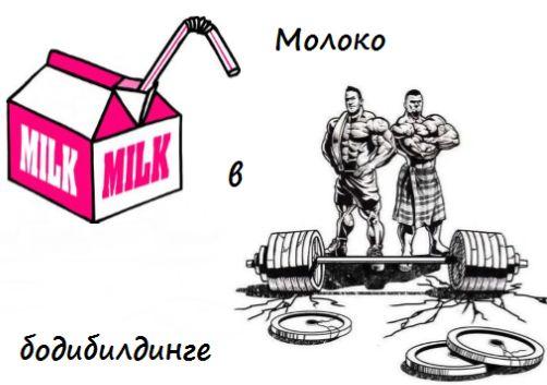 Молоко и мышцы