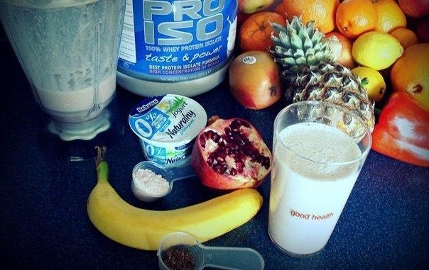 5 белково-углеводных коктейлей