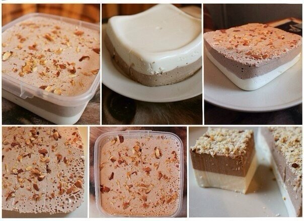 Невероятно вкусный и диетичный! Ванильно – шоколадный творожный десерт