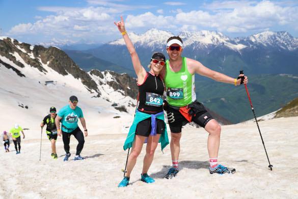 Горы спорта в горах Сочи. тур