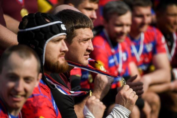ЦСКА одержал победу в матче союзников к 9 мая. медаль