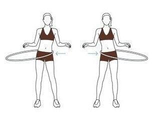 4 упражнения с хулахупом. 4 упражнения с хулахупом 3