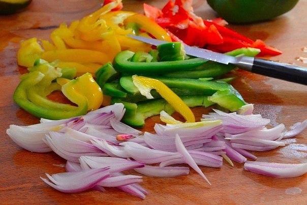 Яичница с овощами в духовке. Яичница с овощами в духовке 1