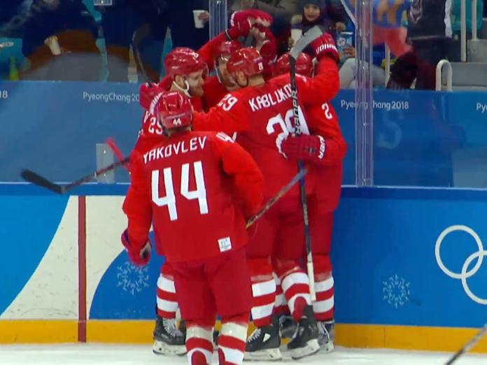Хоккей на Олимпиаде: Россия - в полуфинале, США всё плачутся