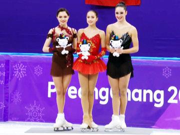 Фигуристка Алина Загитова выиграла Олимпиаду