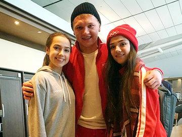 Золотая молодежь России: Загитова, Капризов и Медведева