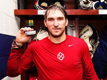 Александр Овечкин в НХЛ: 600 заброшенных шайб!