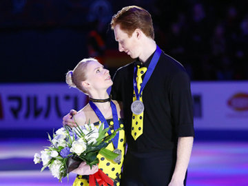 Российские фигуристы выиграли первую медаль чемпионата мира