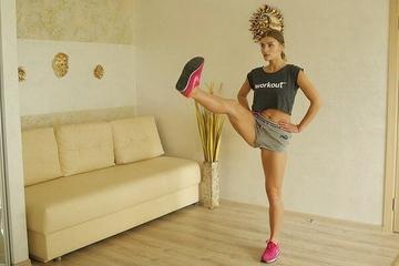 3 упражнения для стройных коленей