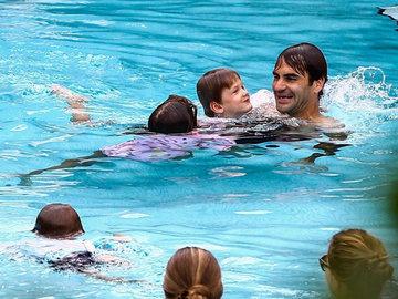 Роджер Федерер проиграл в Майами и устроил отдых с семьей