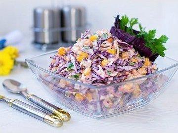 """Вкусный и полезный салат """"коулсло"""""""