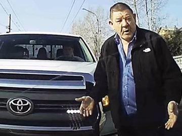 Дорожные войны: Александр Сёмин устроил скандал в Красноярске