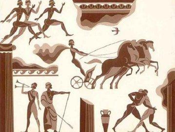 Какие были популярны игры в Древней Греции?