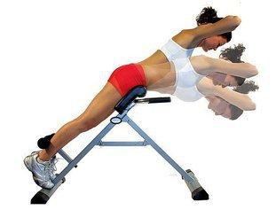 Гиперэкстензия - эффективный способ для развития многих групп мышц