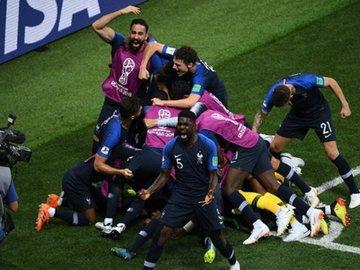 Футбол. Чемпионом мира стала сборная Франции, победившая в финале Хорватию