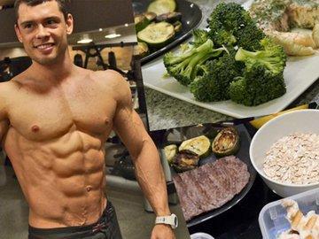 Примеры рационов питания на день для атлетов 70- 90 кг