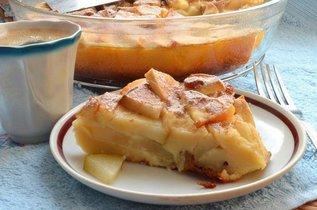 Творожно-яблочная шарлотка: полезная и вкусная выпечка!