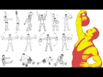 Программа тренировок с гирями