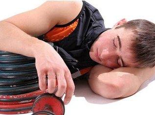Боремся с усталостью на тренировке!